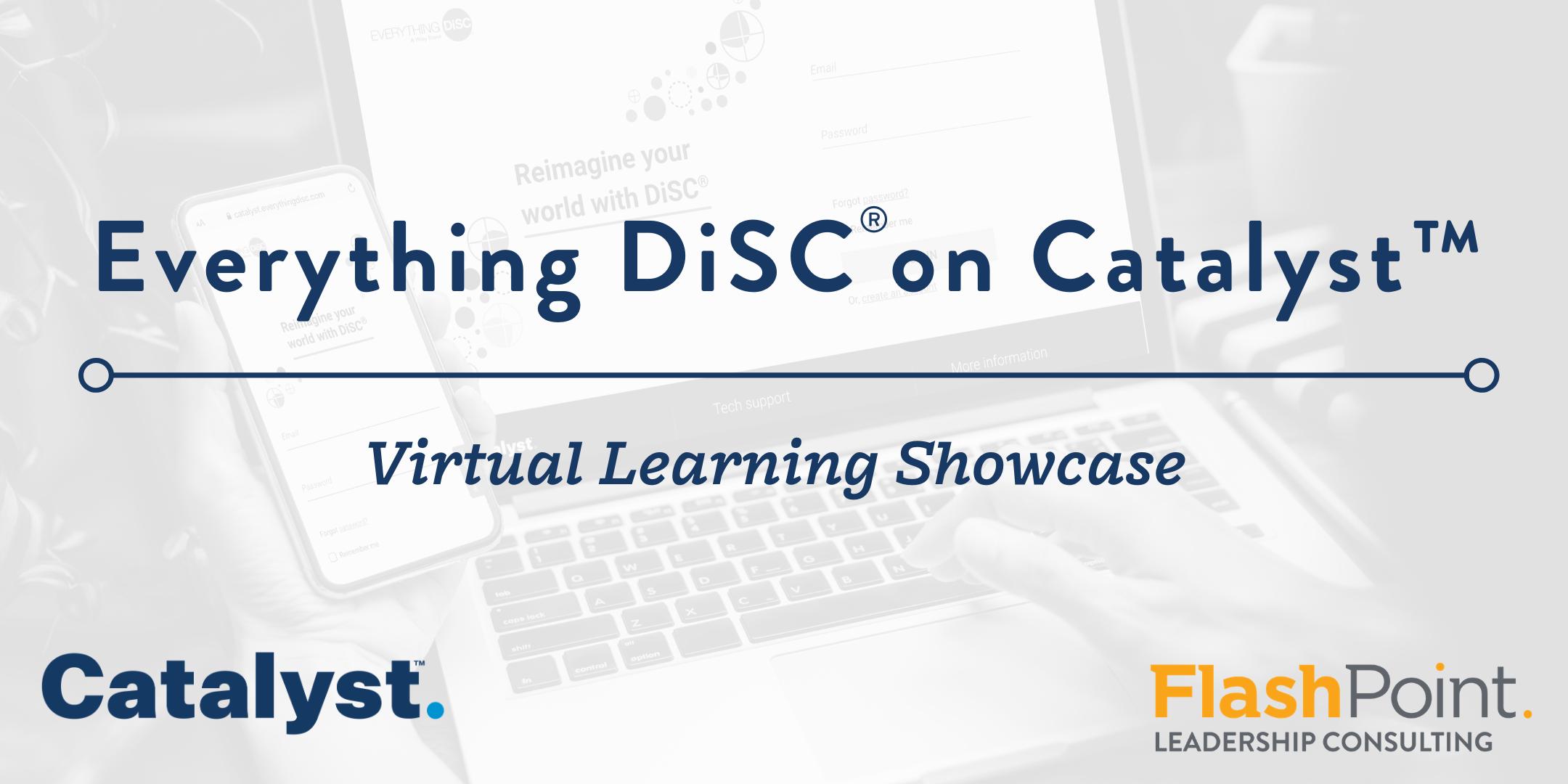 DiSC Showcase Header Catalyst