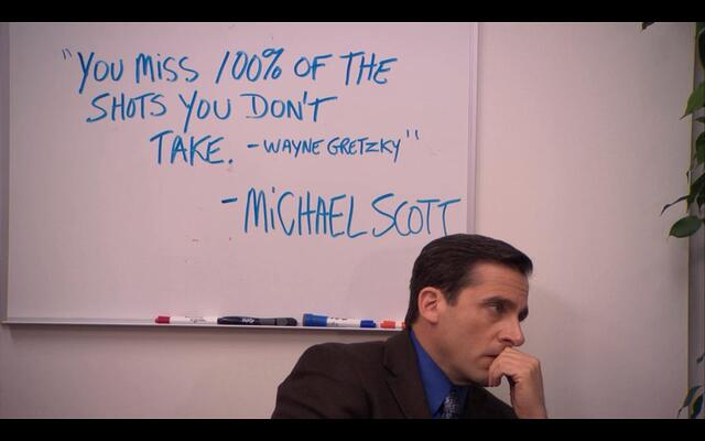 The wise words of Michael Scott - Imgur.jpg