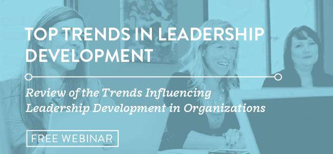 Register for Top Trends in Leadership Development 2019