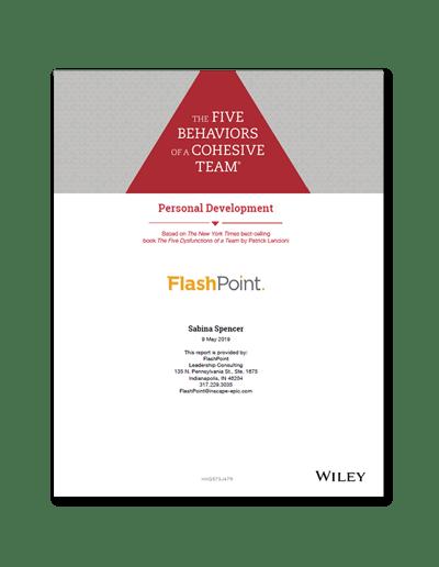 The-Five-Behaviors-Personal-Development-Sample-Report-cover