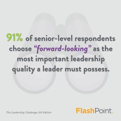 Forward-looking leadership is critical skill for organizational success