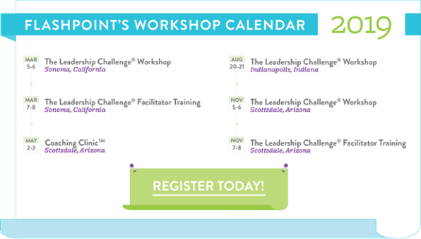 FlashPoint's 2019 Workshop Calendar