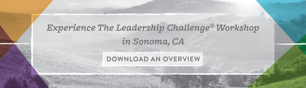The Leadership Challenge Workshop in Sonoma California
