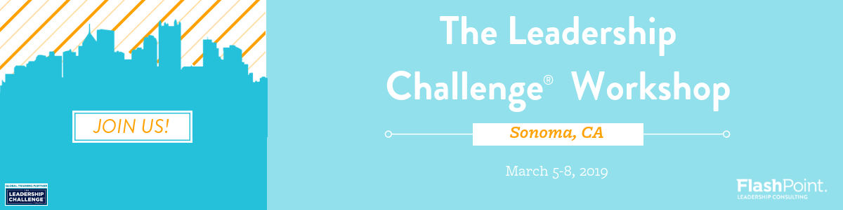 Join us in Sonoma for The Leadership Challenge!