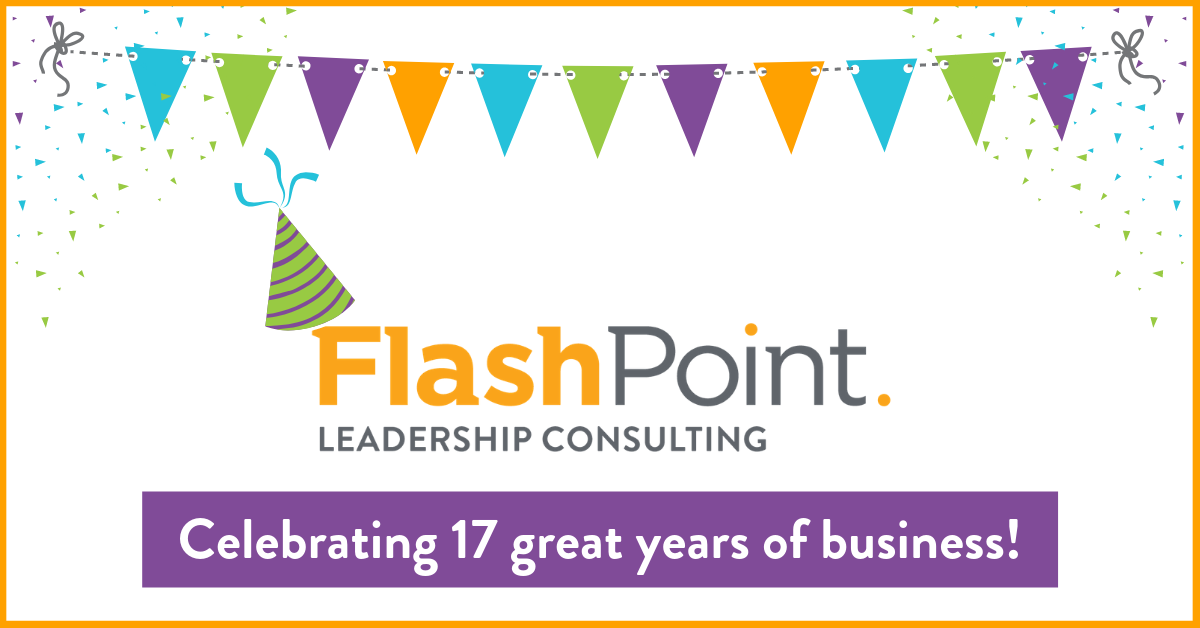 FlashPoint Celebrates 17 Years of Strengthening Leaders and Organizations