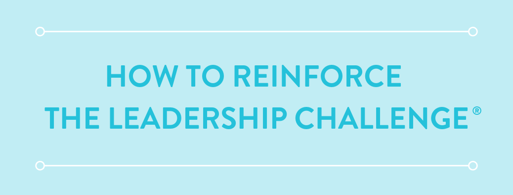 5 Reinforcement Options FlashPoint Recommends for The Leadership Challenge