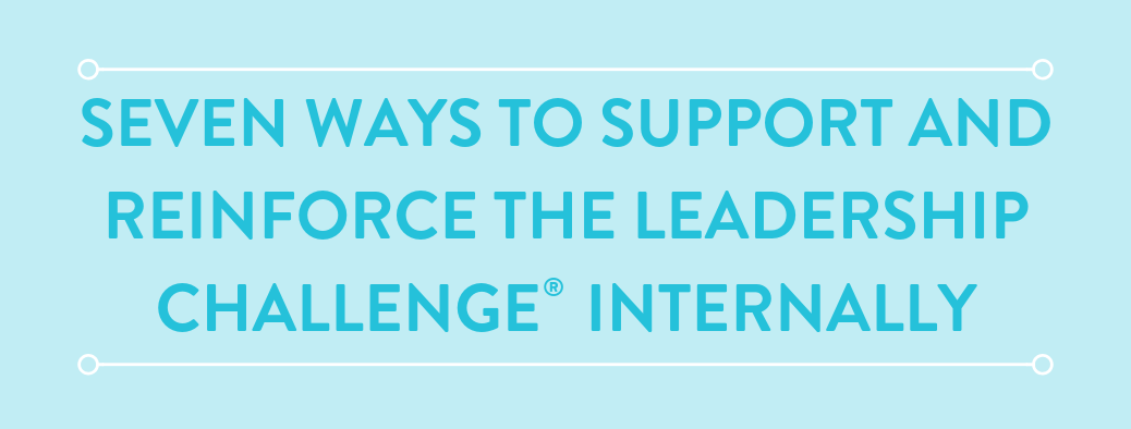 7 Internal Methods to Support The Leadership Challenge